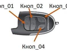 сигнализация mongoose frequency 433.92 mhz инструкция