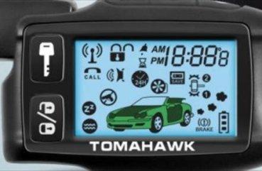 инструкция по использованию сигнализации tomahawk 434mhz