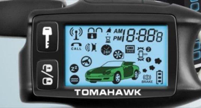 Сигнализация томагавк 434 mhz frequency инструкция автозапуск
