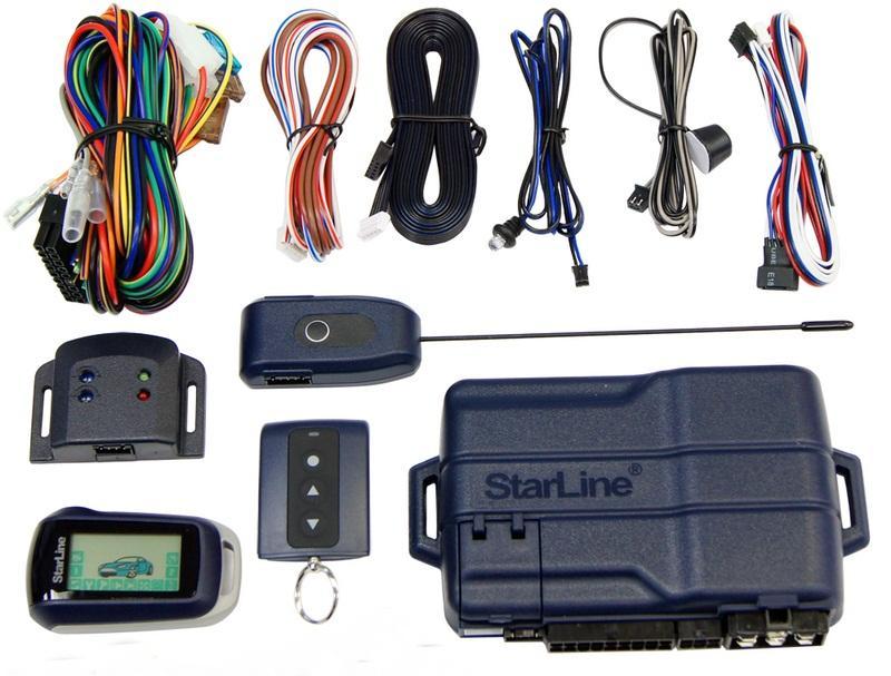 a92 3 2642 - Схема подключения сигнализации старлайн а92